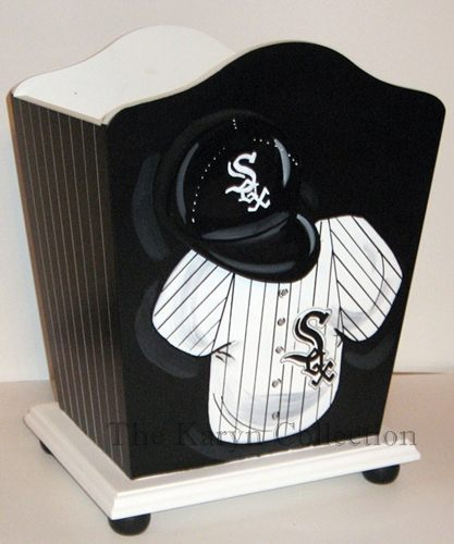 White Sox Trash Can