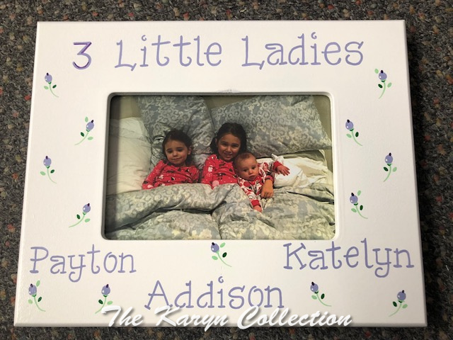 3 Little Ladies Picture Frame