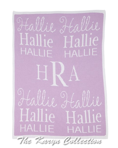 All About Me Stroller Blanket
