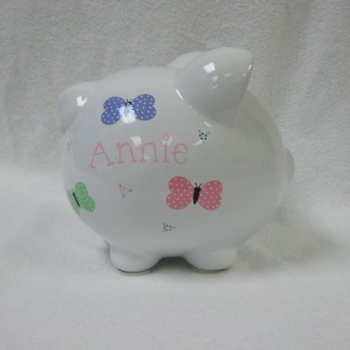 Annie's Butterfly Piggy Bank