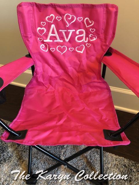 Ava's ALL Hearts Stadium Chair