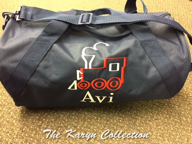 Avi's Navy Train Duffle