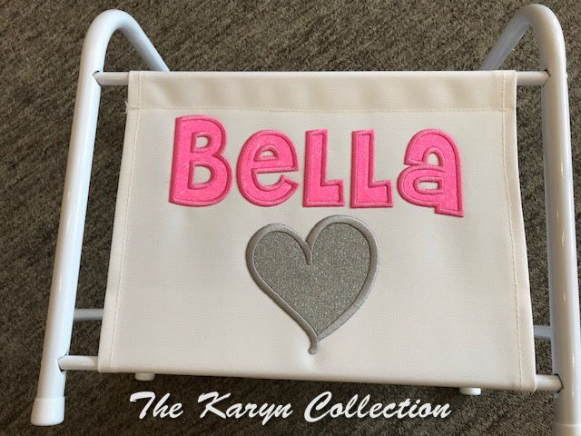 Bella's single heart magazine- book rack