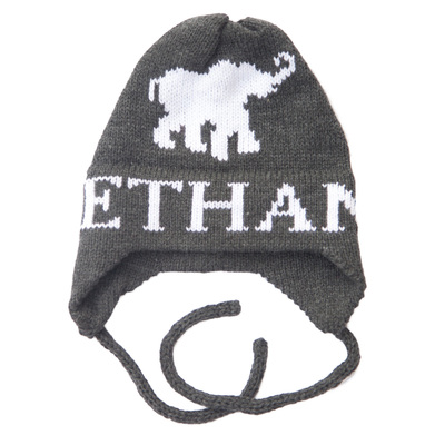 Ethan Elephant Hat with Earflaps