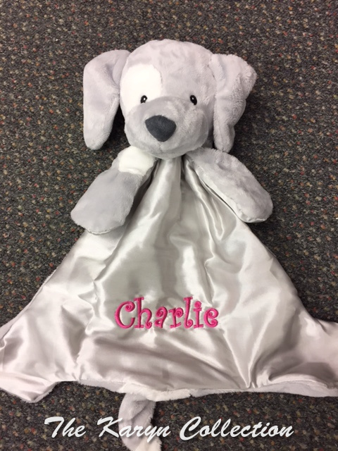 Charlie's Gray Hugbuddy Dog