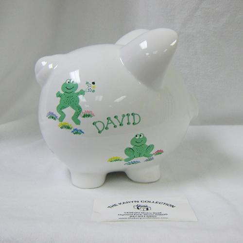 Frog Piggy Bank