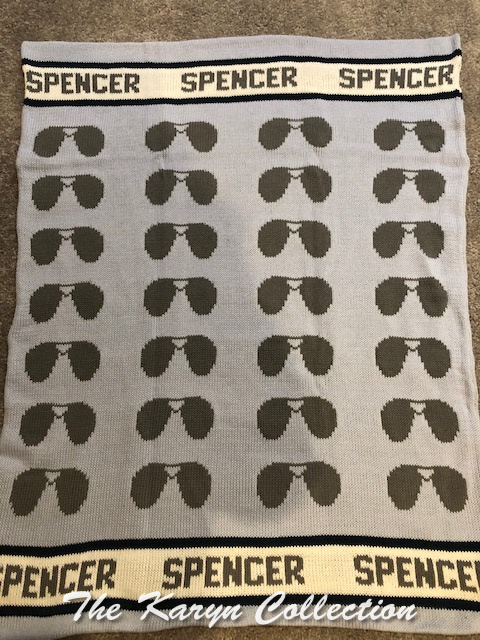 *EXCLUSIVELY OURS...Spencer's ALL COTTON Sunglasses Blanket