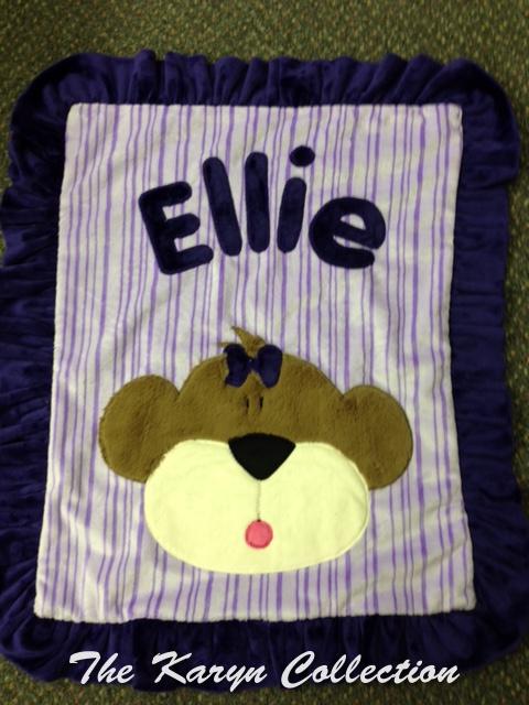Ellie Mini Minky Blanket