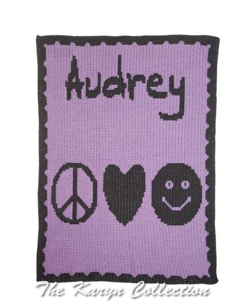 Emoji Combo & Name Stroller Blanket