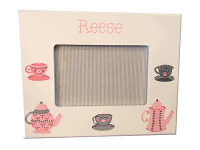 Reese's tea party picture frame