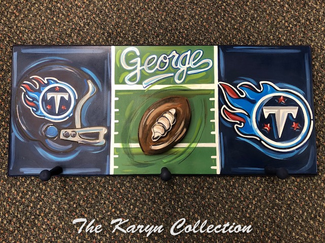 George's coatrack is for the Tennessee Titans!!!!