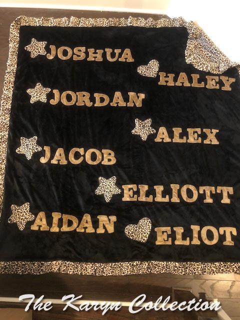 Grandma Sharon's stadium blanket
