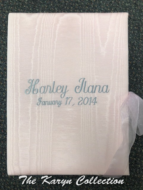 Harley Ilana's Moire Memory Box - Light Pink with Gray