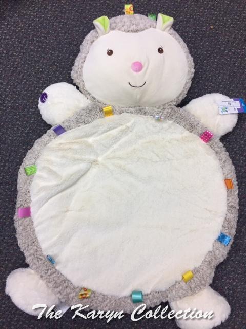 Hedgehog Taggies Activity Blanket