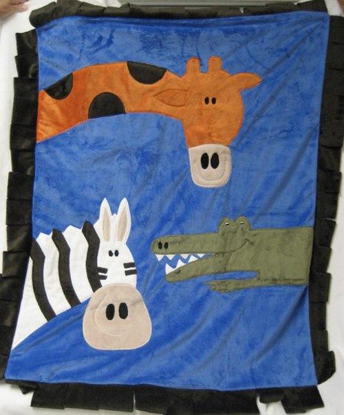Wild Party Safari Blanket