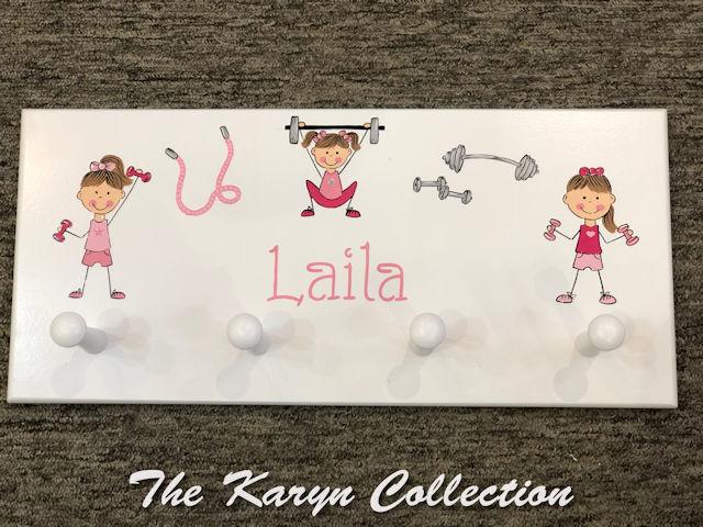 Laila's Workout Coat Rack