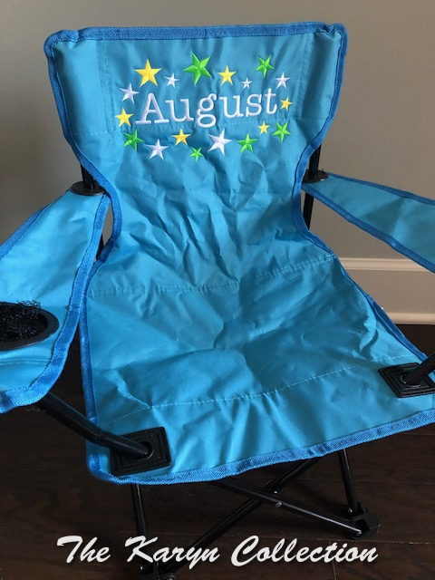 August's All Star Stadium Chair