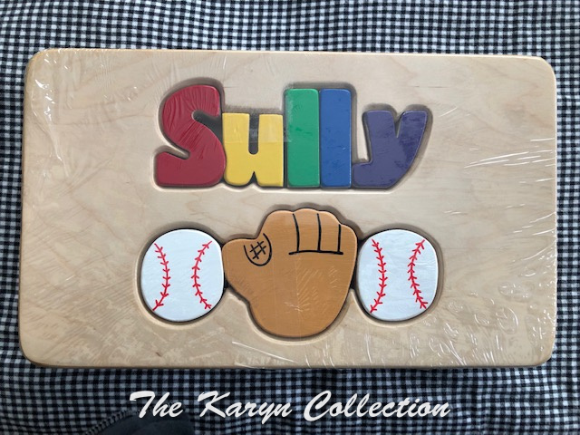 psSully's ALL Baseball Puzzle Stool