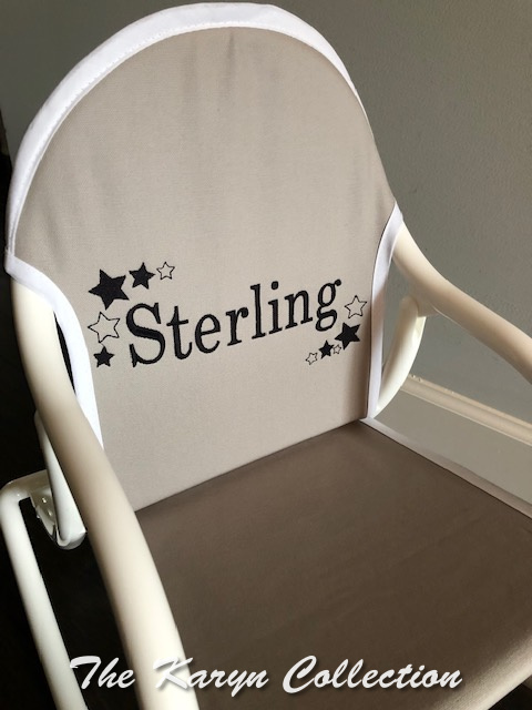 Sterling's All Star Rocking Chair