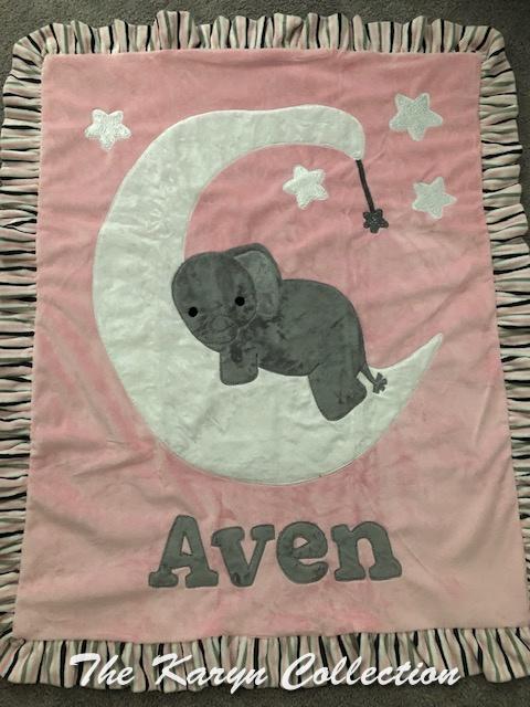 Aven's Goodnight Moon minki Blanket