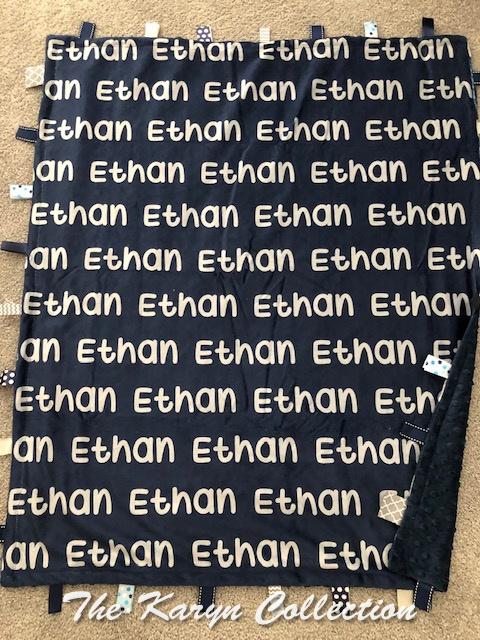 Ethan's Activity Blanket
