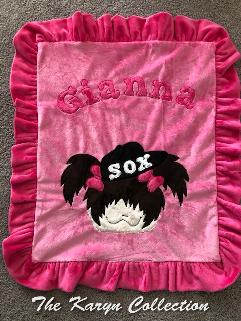Gianna's MINI***  minki blanket
