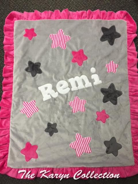 Remi's all- star MINKI blanket