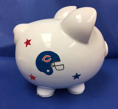 Chicago Teams on a piggy bank