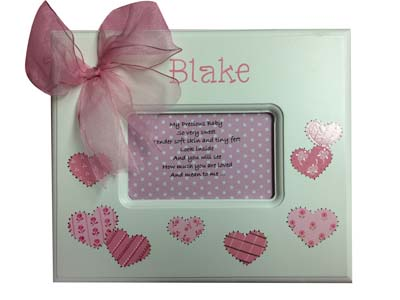 Blake's patchwork hearts memory box