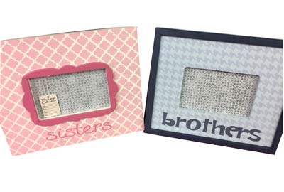 Brother and Sister picture frames !