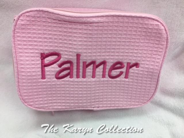 Palmer's 2-Zipper Waffle Bag