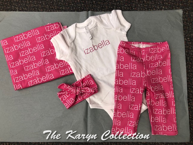 Isabella's 4 Piece Organic Layette Set (GREAT FOR TAKE ME HOME!!)