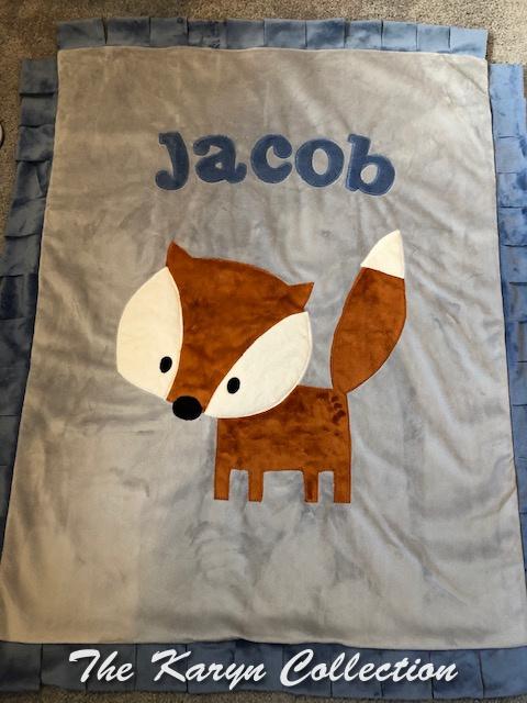 Jacob's basic minki Fox Blanket
