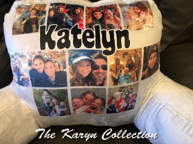 Katelyn's Custom Photos Study Pillow