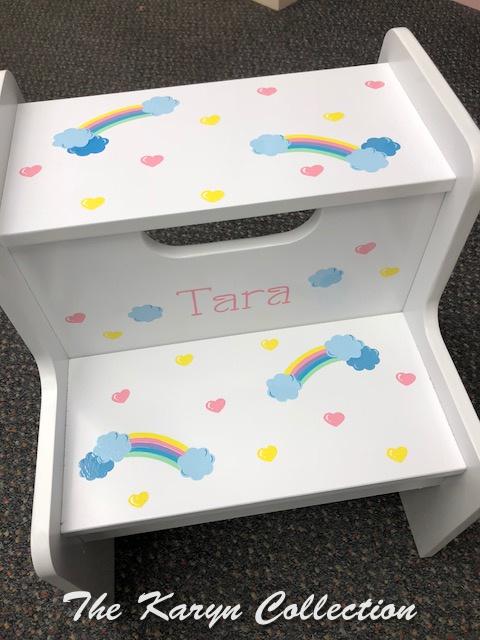 Tara's Over the Rainbow Stool