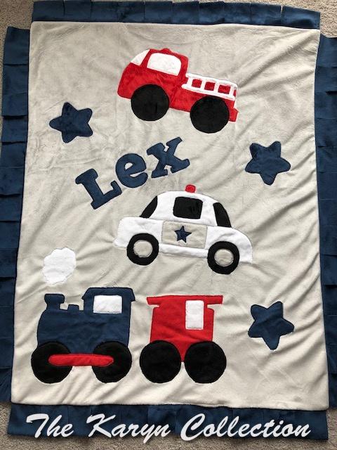 Lex's transportation blanket