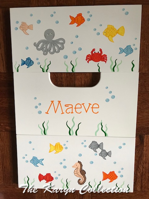 Maeve's 2 Step Sea Creatures Stool