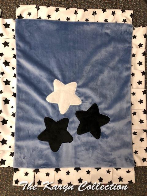Mini Minky Blanket-All Stars
