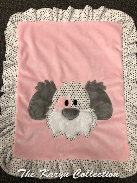 Mini Minki blanket- My Dog Spot for Girls