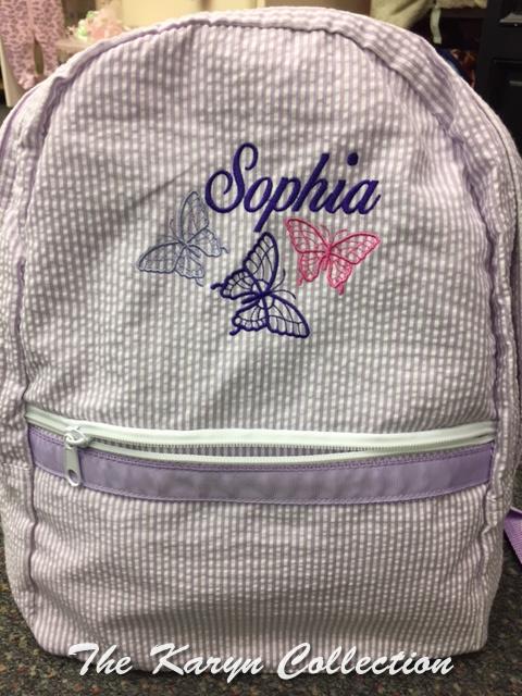 Sophia's Butterfly Backpack