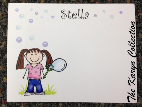 Blowing Bubbles Stationary