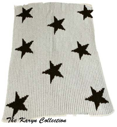 Floating Stars Stroller Blanket 13a