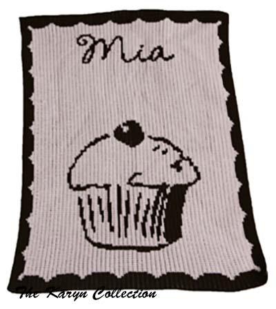 Cupcake Stroller Blanket