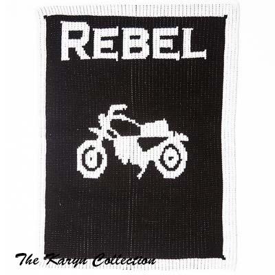 Vintage Motorcycle Stroller Blanket