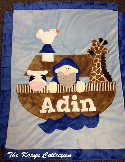 Noah's Arc Minky Blanket