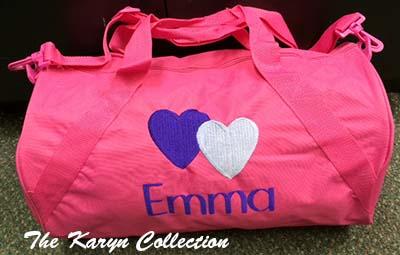 Emma's Hot Pink Duffle Bag