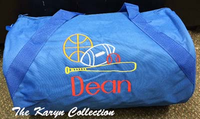 Dean's Royal Blue Duffle