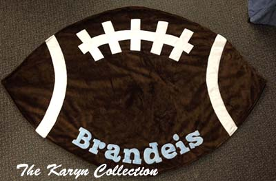 Football Shape Blanket - By Boogie Baby