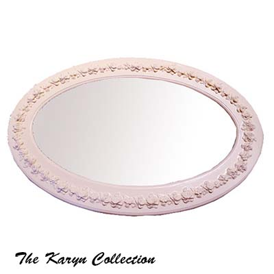Vintage Cluster Oval Mirror