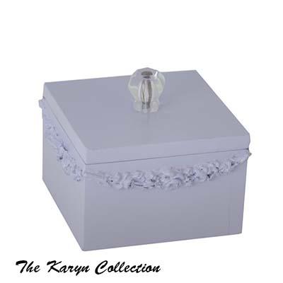 Vintage Square Jewelry Box